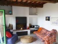 appartamento ALBA - soggiorno con camino