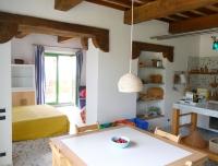 appartamento ALBA - cucina e vista camera