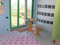 appartamento BACCO - letto matrimoniale al piano d'ingresso