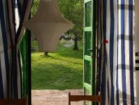 appartamento BACCO - ingresso verso il giardino