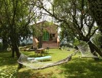 La casetta nel bosco B&B - il giardino