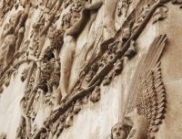 Orvieto - dettaglio della facciata del Duomo