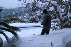 La casetta nel bosco - nevicata 2012
